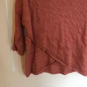 Anthropologie Sweaters - Anthropologie Rust Sweater Large